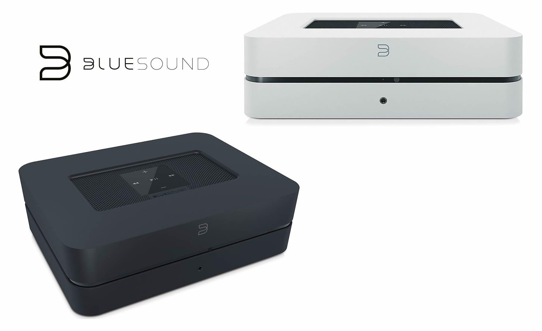 Den Bluesound Powernode 2 Streaming Client inklusive Vollverstärker kauft man beim AkustikTune Hifi Fachhandel