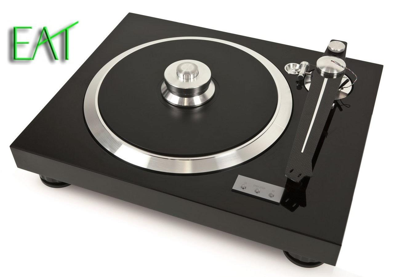 Den EAT FLAT Plattenspieler mit ultraflachem Carbon Tonarm sowie andere Phono Produkte bekommt man beim AkustikTune Hifi Studio