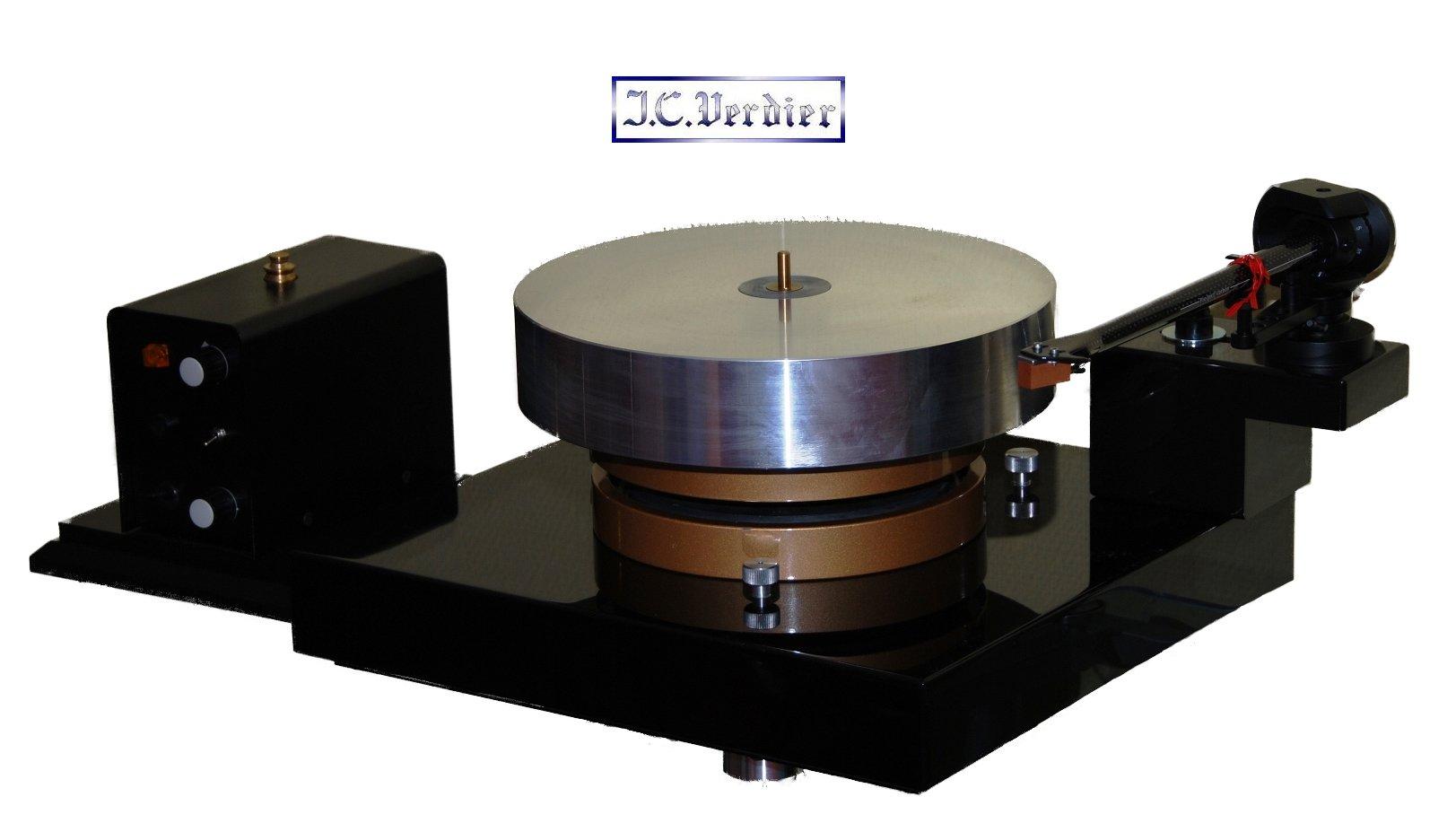 Das Verdier La Platine Vinyl-Laufwerk kauft man beim AkustikTune Hifi Fachhandel-Studio