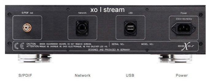 X-Odos XO-stream Musikstreamer Anschlüsse
