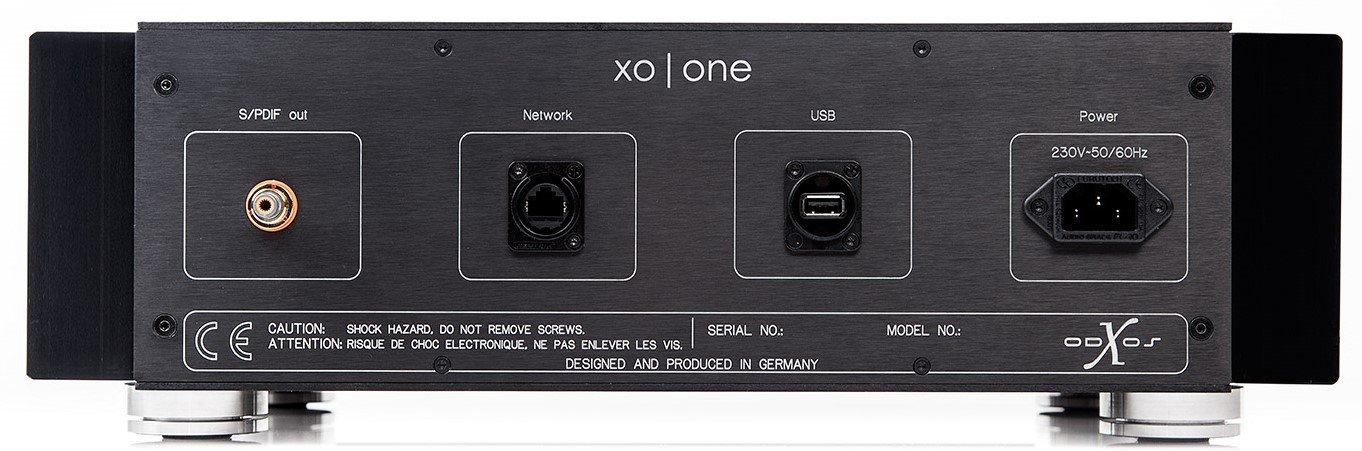 X-Odos XO ONE Musikserver Anschlüsse