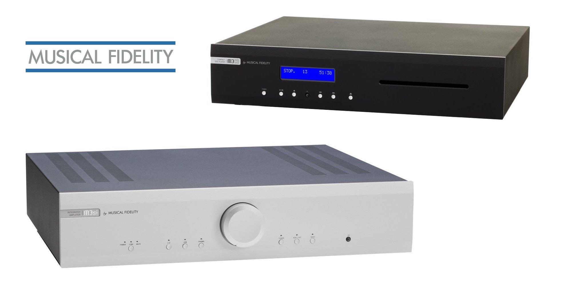 Den Musical Fidelity M3si Vollverstärker und M3s CD-Player kauft man beim Akustiktune Hifi Studio