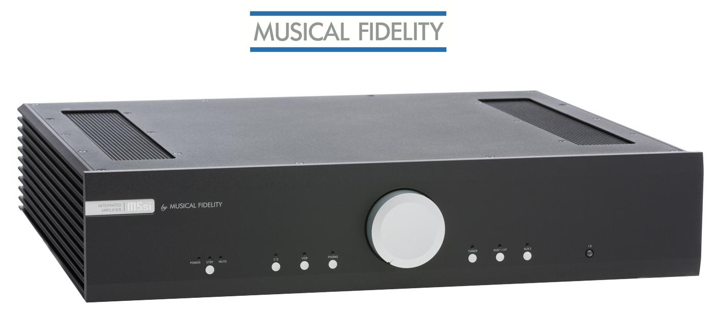 Den Musical Fidelity M5si Vollverstärker kauft man beim Akustiktune Hifi Studio