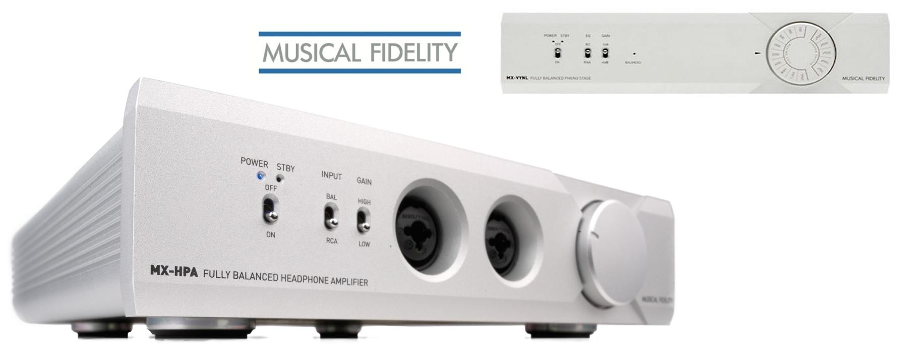 Den Musical Fidelity MX HPA Kopfhörerverstärker kauft man beim Akustiktune Hifi Studio