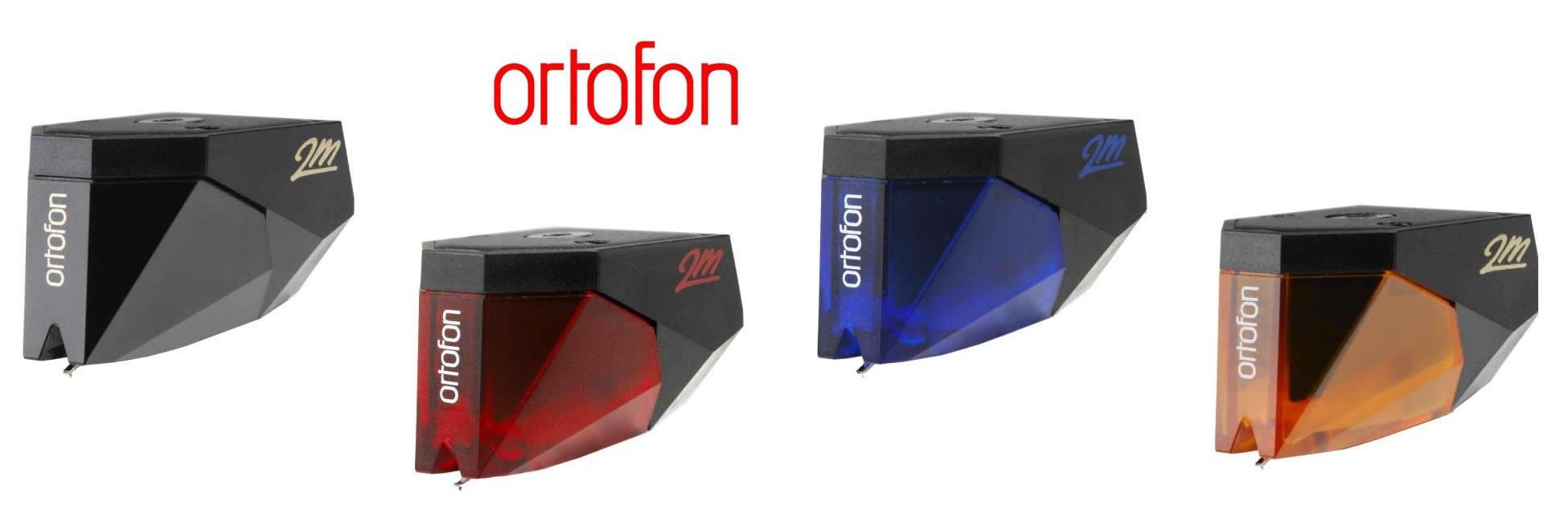 Ortofon Tonabnehmer 2M Black, Red, Blue und Bronze kauft man beim AkustikTune Hifi Studio