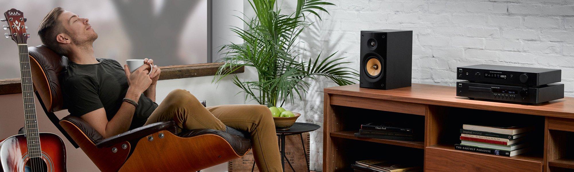 NAD Classic Serie Hifi Elektronik und Audio Streamer