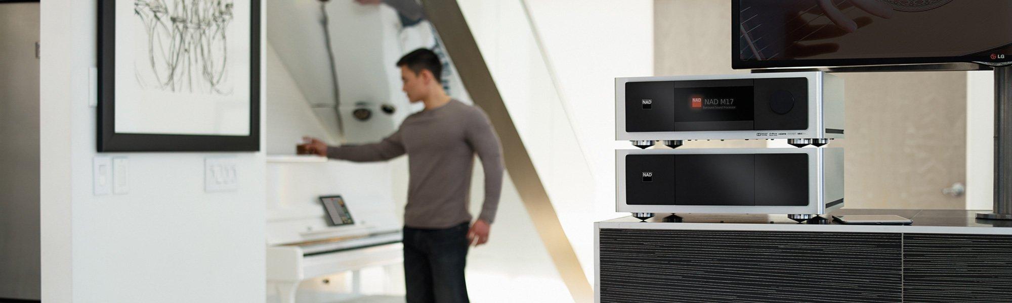 NAD Masters Serie Hifi Elektronik und Audio Streamer