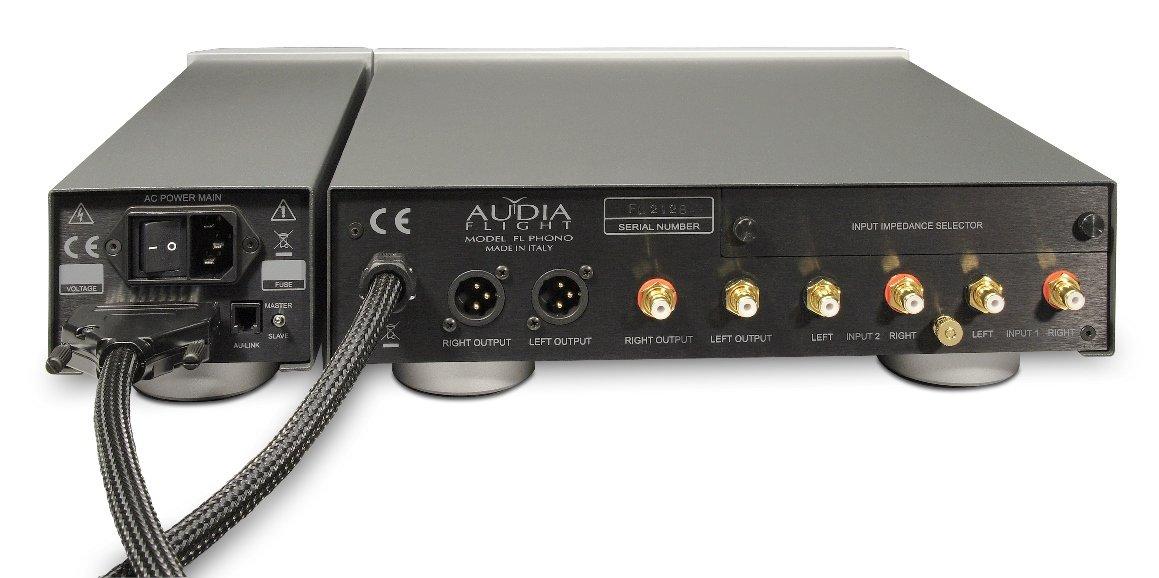 Audia Flight Phonovorstufe FL Phono Anschlüsse