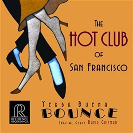 "The HOT CLUB of San Francisco ""Yerba Buena Bounce"" CD wird empfohlen vom Hifi Studio AkustikTune Coverbild"