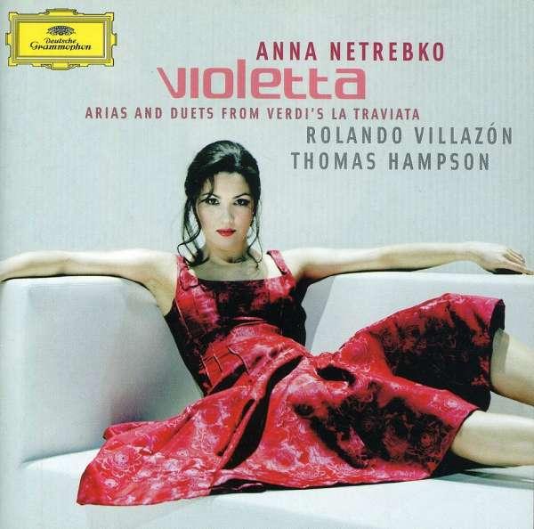 CD und LP Album Violetta von Anna Netrebko wird empfohlen vom Hifi Geschäft AkustikTune