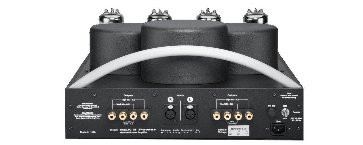 BAT REX Power II Endstufe