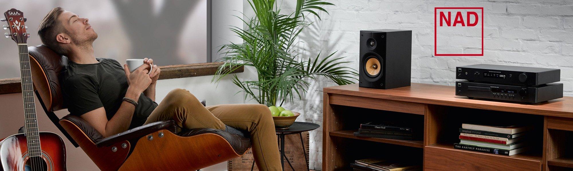 NAD Hifi Elektronik kauft man beim Hifi Händler Akustiktune, dem Hifi Geschäft in Österreich