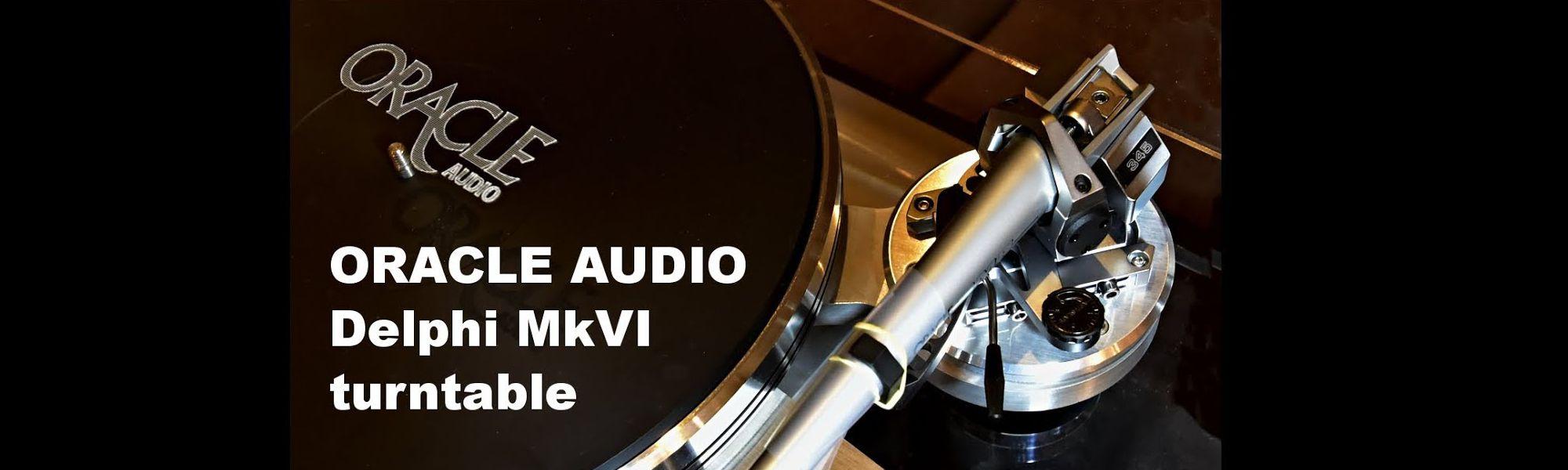 Oracle Audio Plattenspieler Delphi MKVI