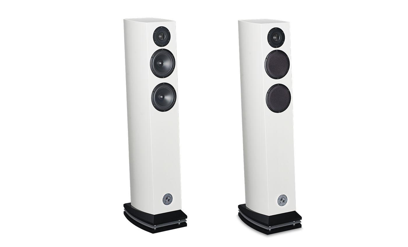 Atohm GT2-HD Standlautsprecher Weiß