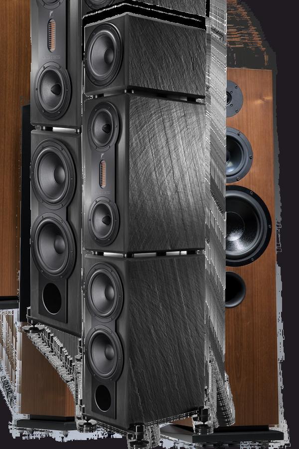 Fischer und Fischer Lautsprecher aus Naturschiefer kaufen AkustikTune Hifi Studio