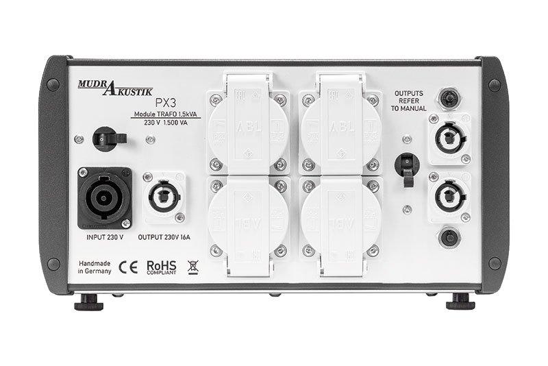 Mudra Akustik PX 3 Komplettgerät Back