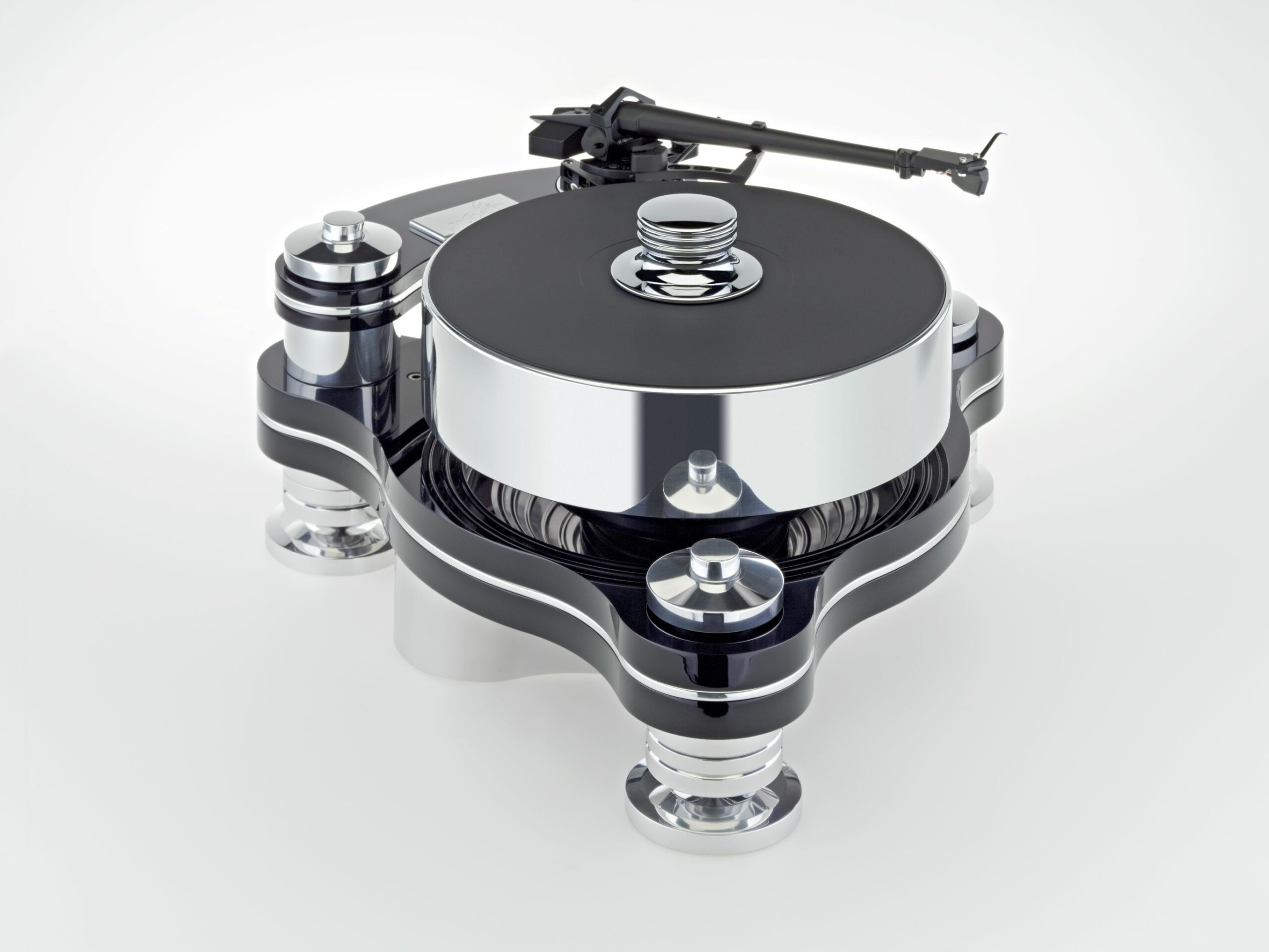 Transrotor Rondino Nero Plattenspieler Laufwerk