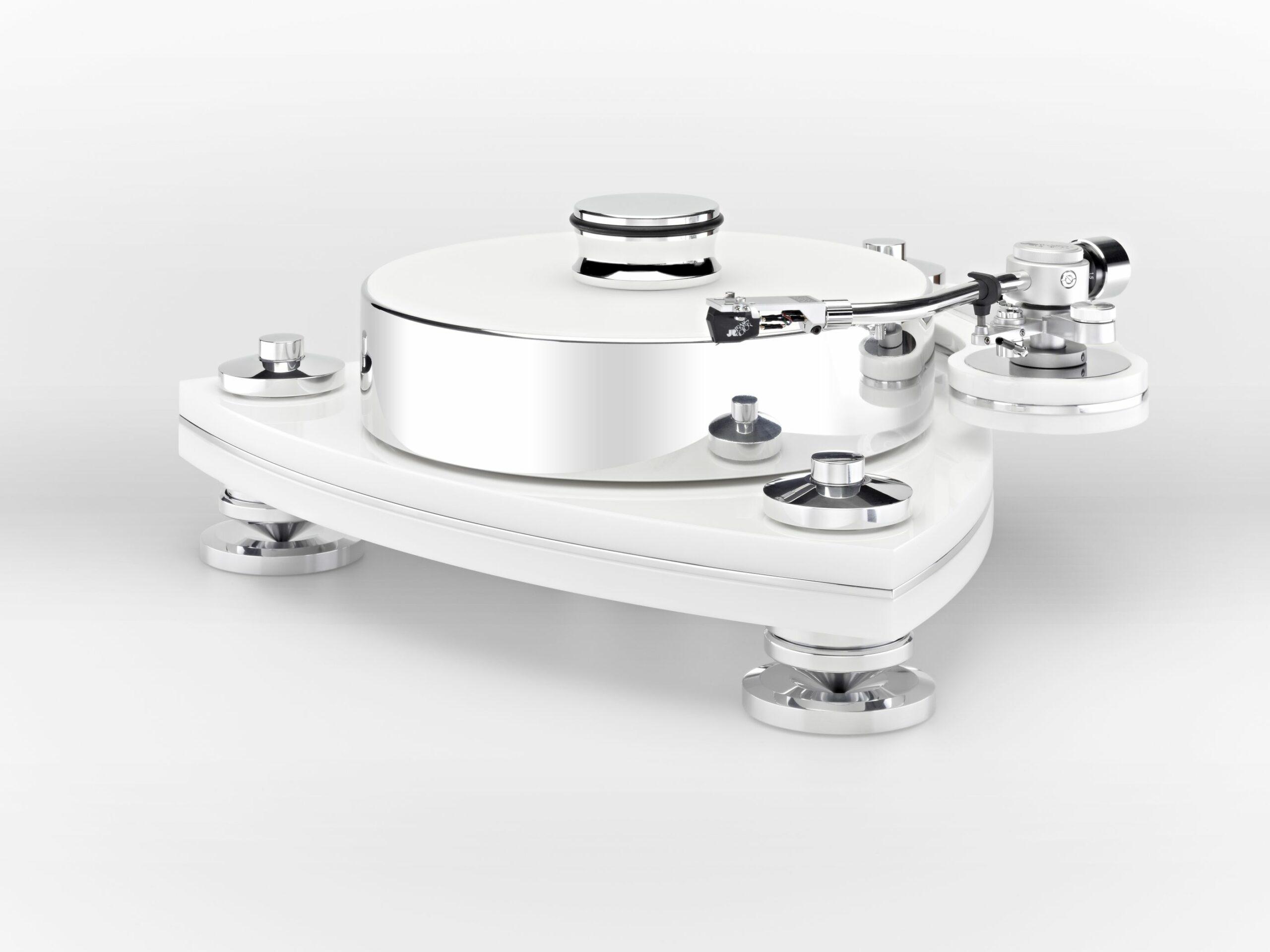Transrotor Crescendo Bianco Plattenspieler Laufwerk