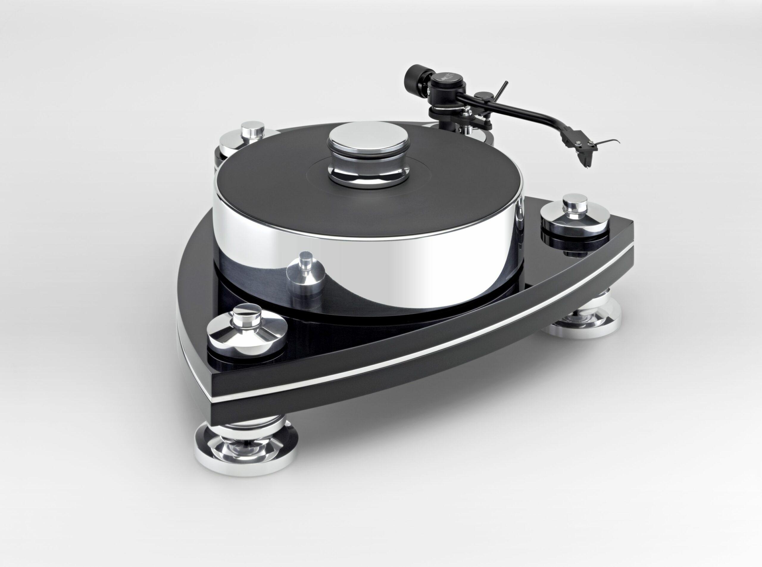 Transrotor Crescendo Nero Plattenspieler Laufwerk