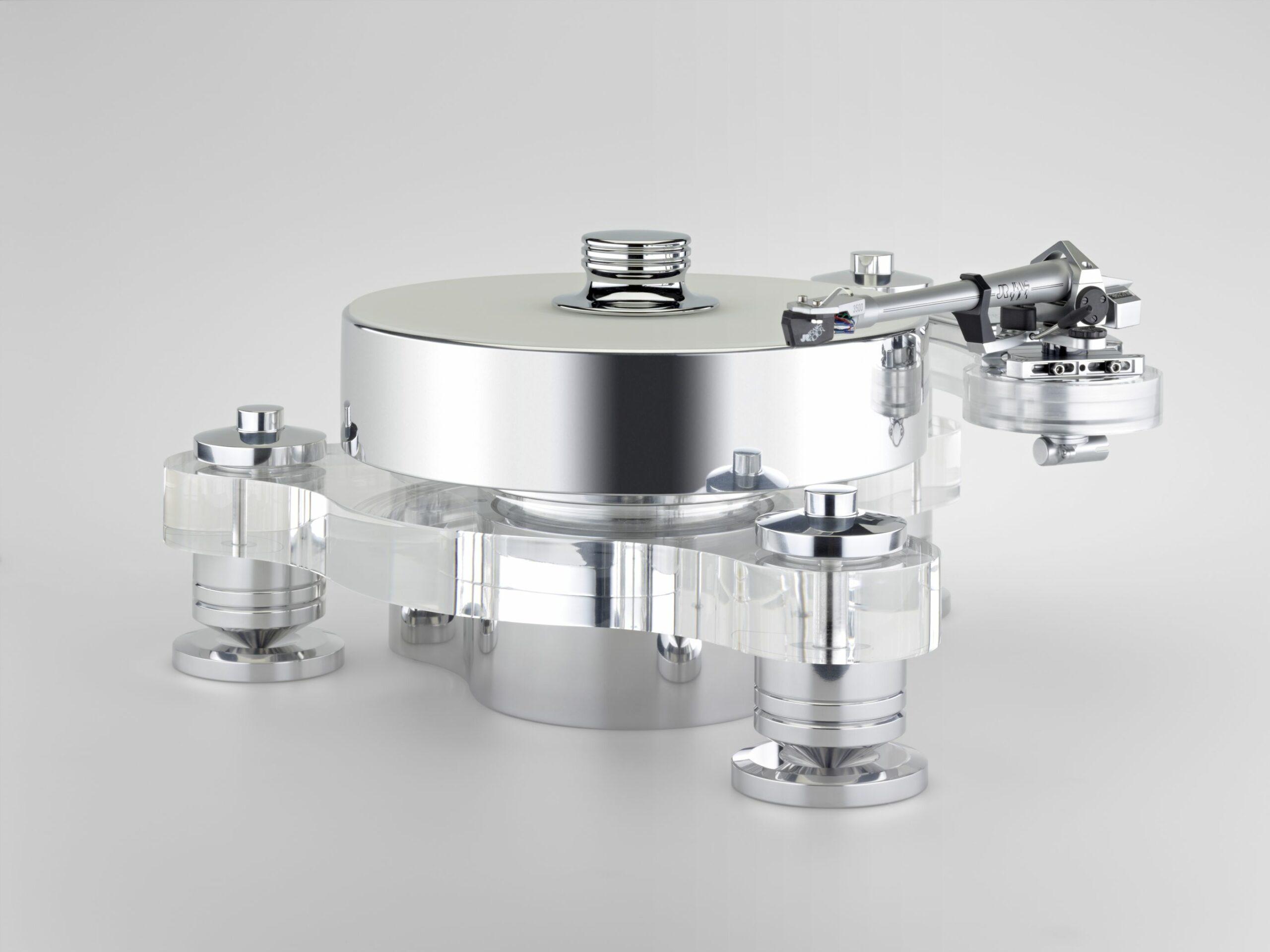 Transrotor Rondino Bianco Plattenspieler Laufwerk