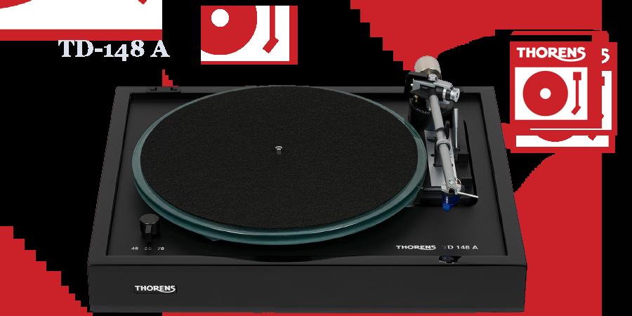 Thorens TD148A Plattenspieler