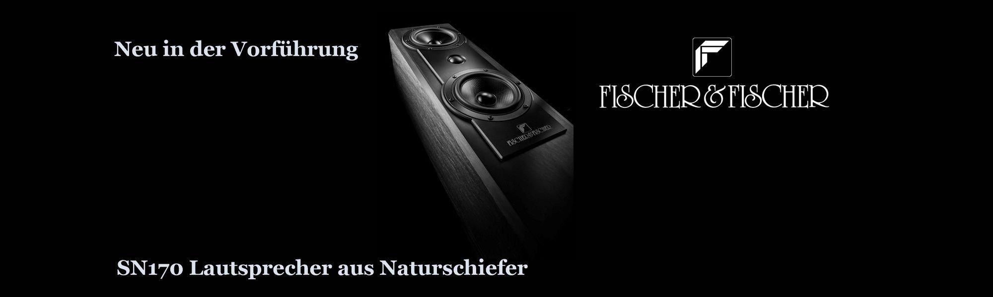 Fischer und Fischer SN170 Schieferlautsprecher