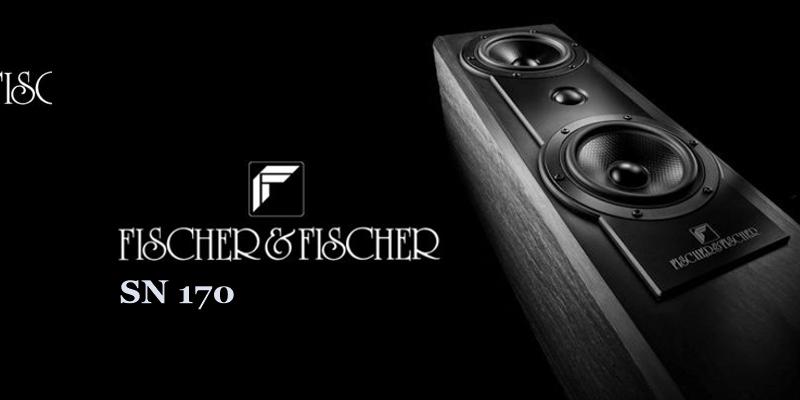 Fischer und Fischer SN170 Lautsprecher aus Naturschiefer