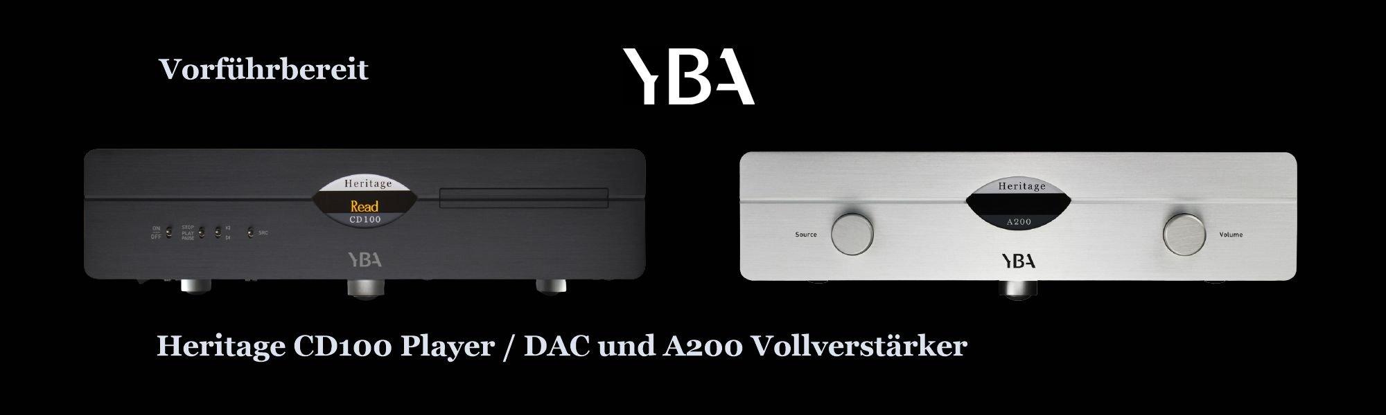 YBA Heritage CD100 CD-Player und A200 Vollverstärker