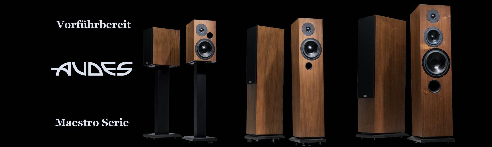 AUDES Lautsprecher Maestro Serie