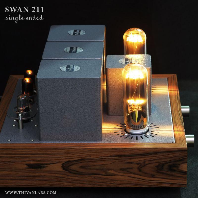 Thivan Labs 211 Gold Swan Vollverstärker