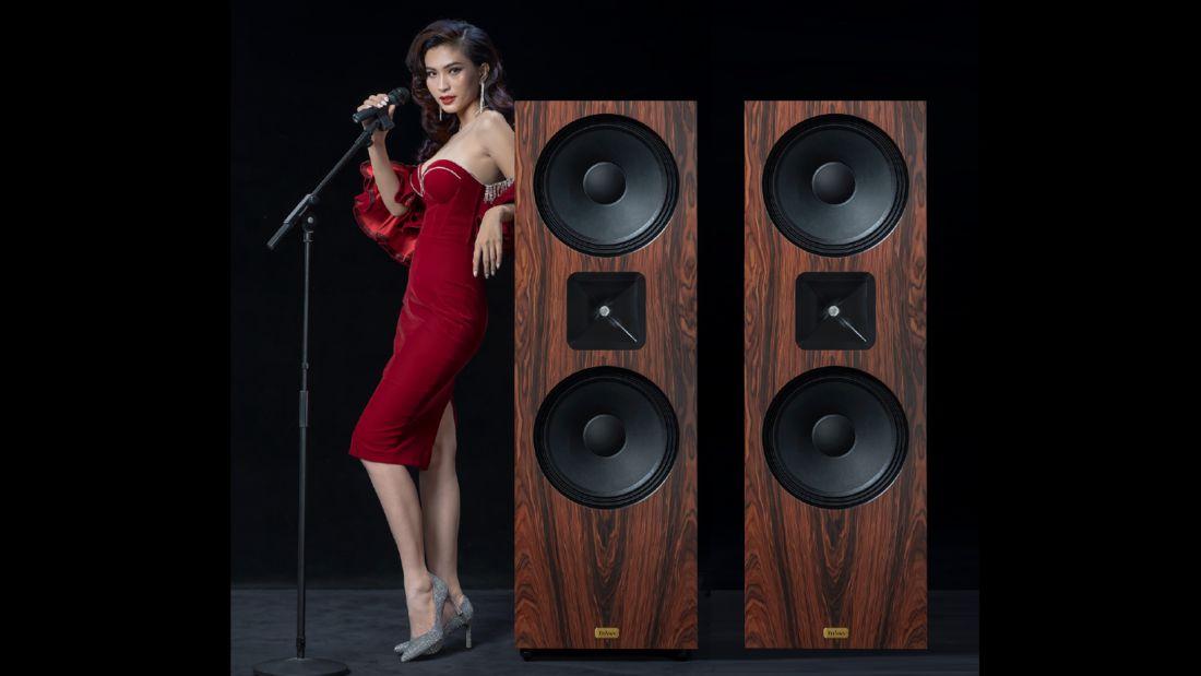 Thivan Labs Eros 15 Horn Lautsprecher in Palisander