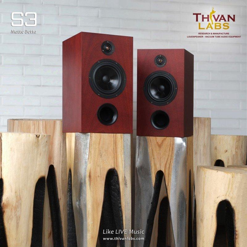 Thivan Labs S3 Regallautsprecher