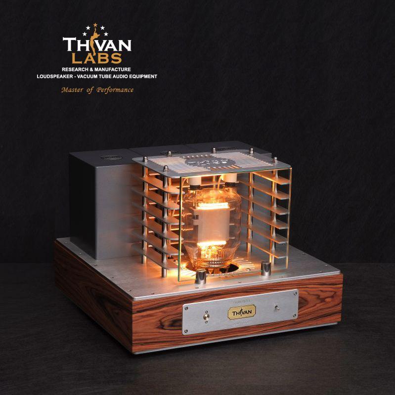 Thivan Labs 833 SUN Vollverstärker - Endstufenteil